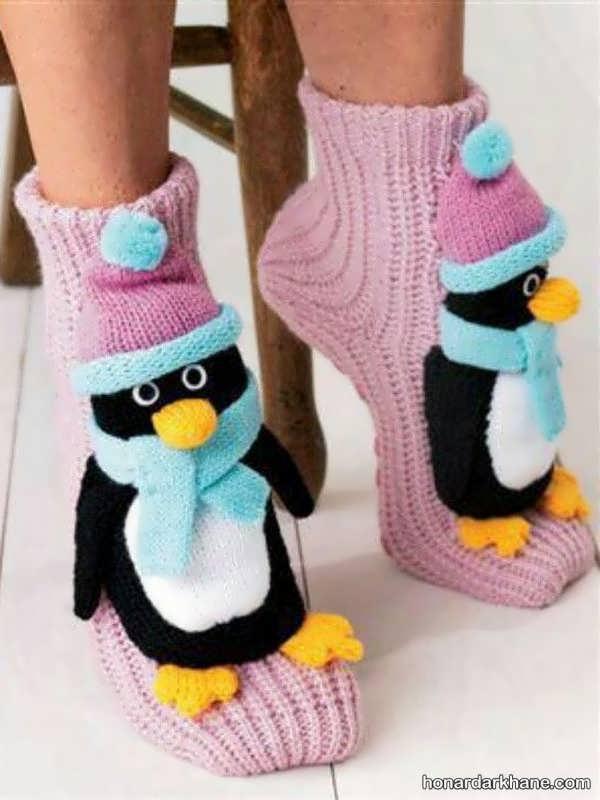 مدل های بچه گانه جوراب بافتنی