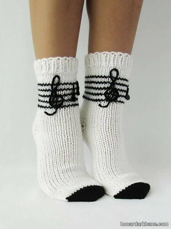 انواع جالب و جدید جوراب زمستانه