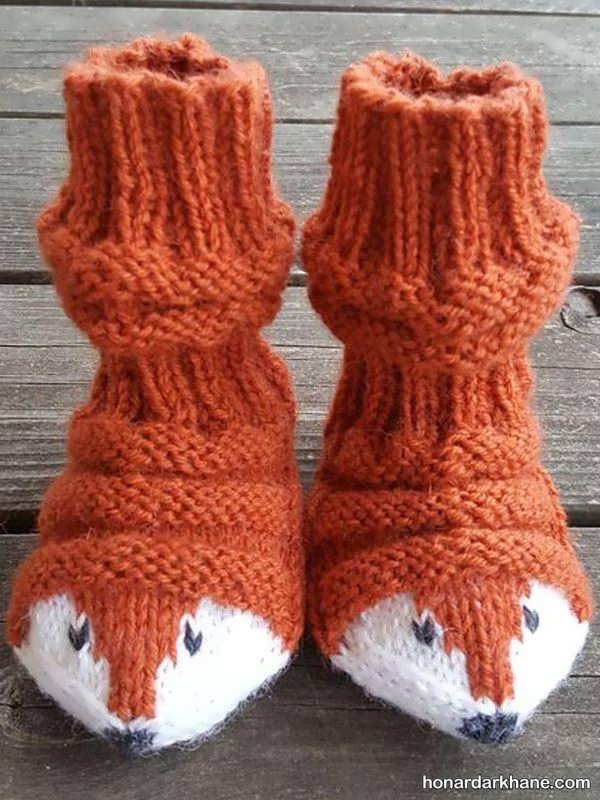 مدل های جالب و فانتزی جوراب زمستانه
