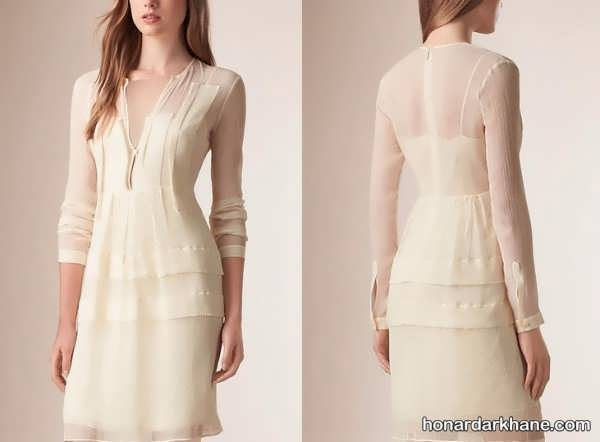 مدل های کوتاه لباس مجلسی زنانه