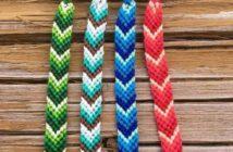 نحوه ساخت دستبند با کاموا