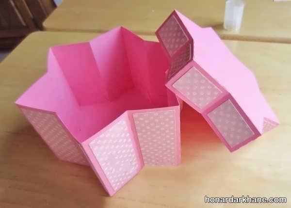 نحوه درست کردن جعبه کادو