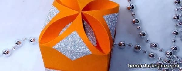 مدل های مختلف ساخت جعبه کادو با مقوا