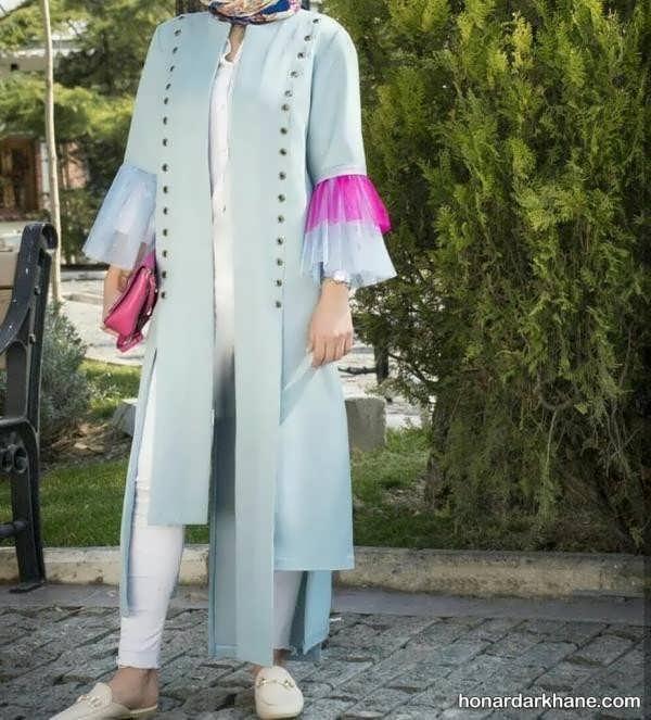 مدل های زیبا و بلند مانتو عید 99