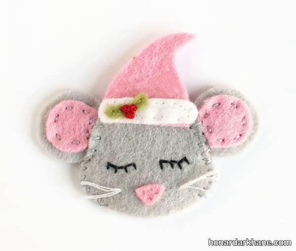 روش ساختن موش نمدی