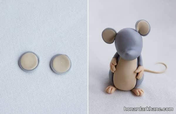 روش ساخت عروسک موش زیبا