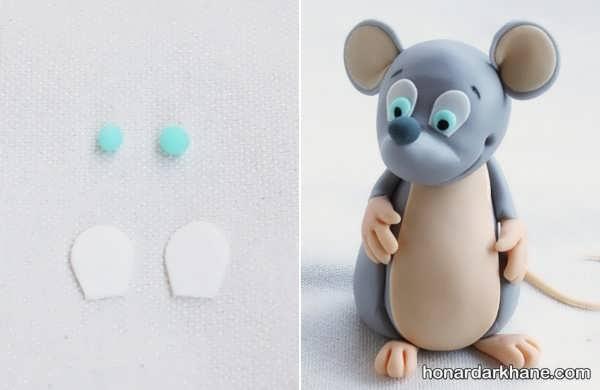 نحوه درست کردن کاردستی موش
