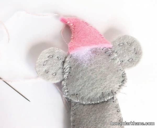 نحوه ساخت کاردستی موش