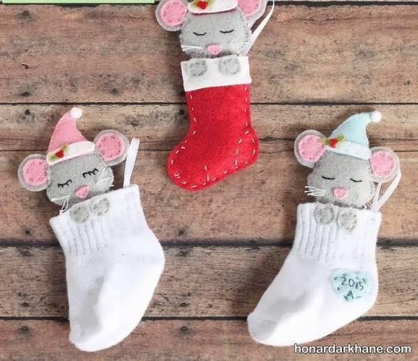 آموزش ساخت کاردستی موش