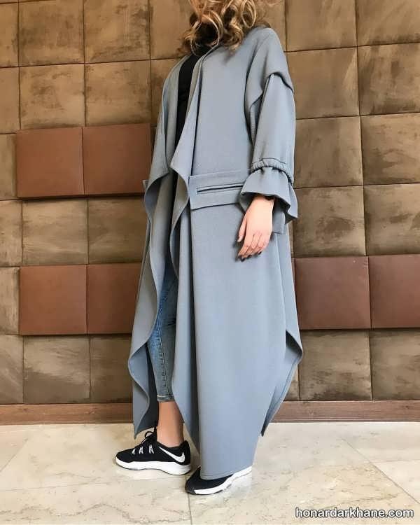 مدل مانتو شیک دخترانه 99 با طرح های جدید و متفاوت