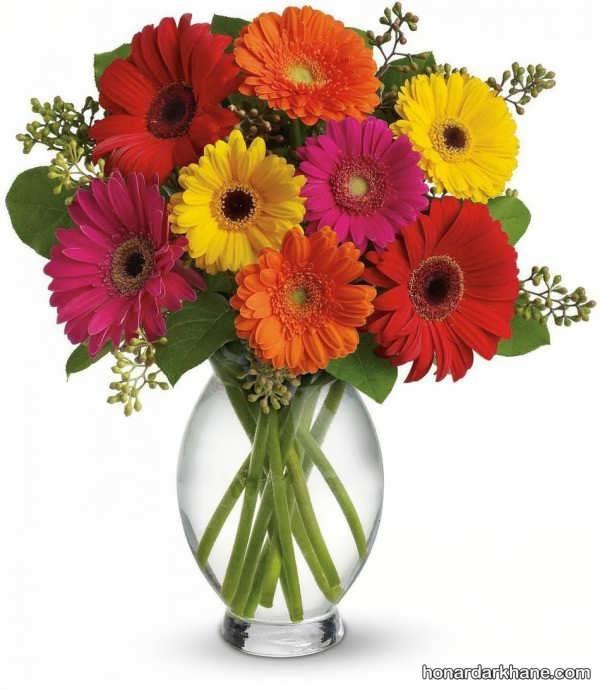 مدل های مختلف تزیین گل