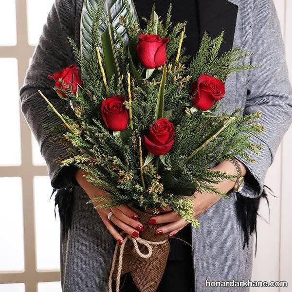 تزیینات جالب و زیبا گل در گلدان