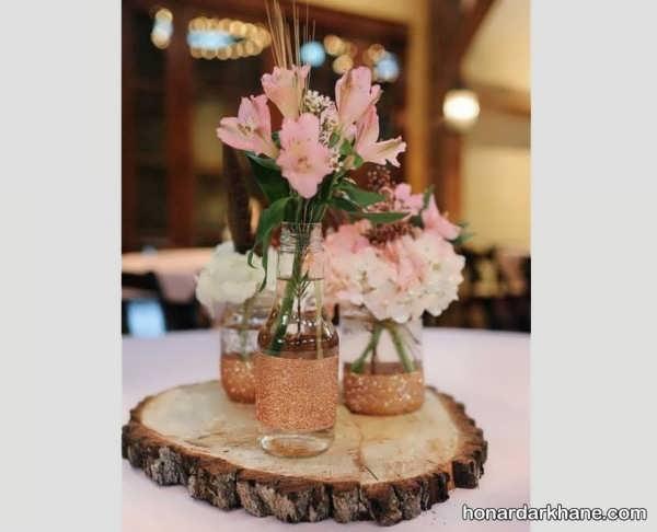 انواع تزیینات گل در تنگ
