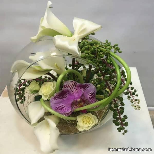 مدل های متنوع گل آرایی با گل طبیعی
