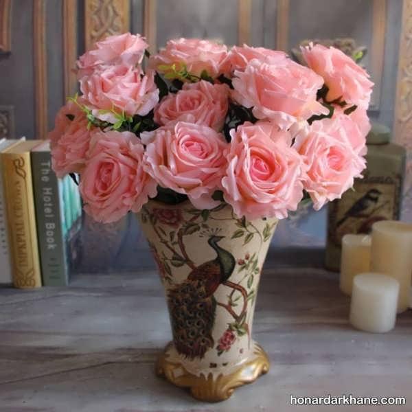 مدل های زیبا گل آرایی اتاق