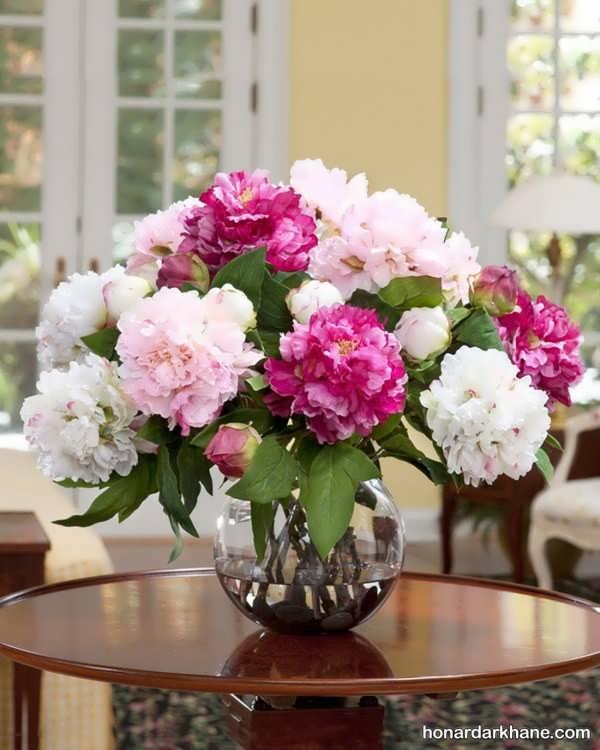 انواع گل آرایی با گل طبیعی