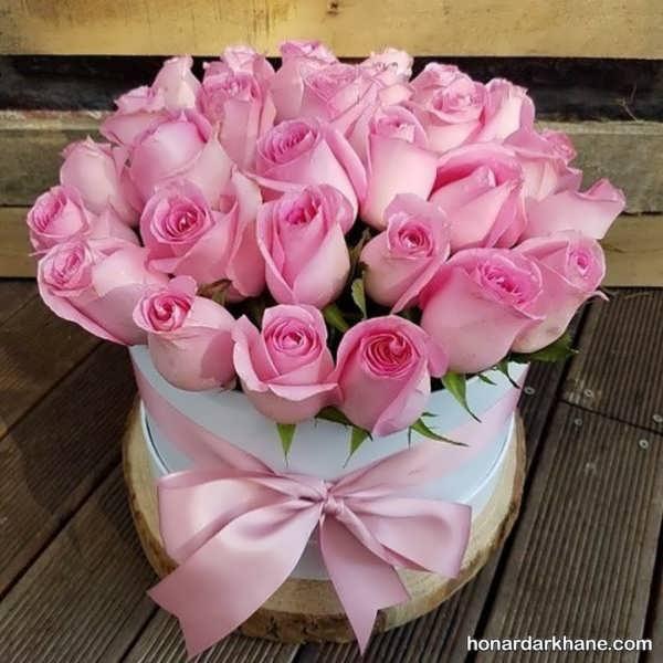 انواع گل آرایی در سبد