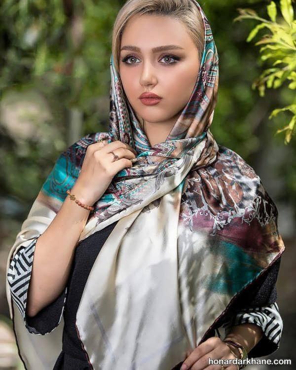 زیباترین انواع شال و روسری