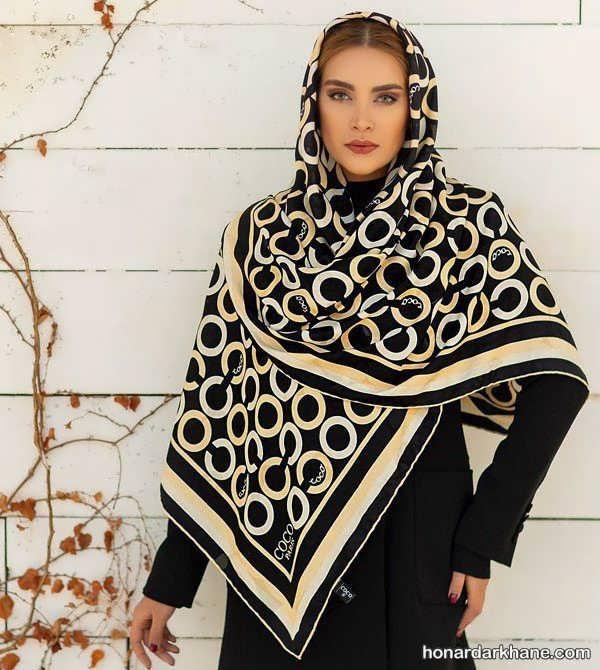 مدل های ساده و زیبا روسری