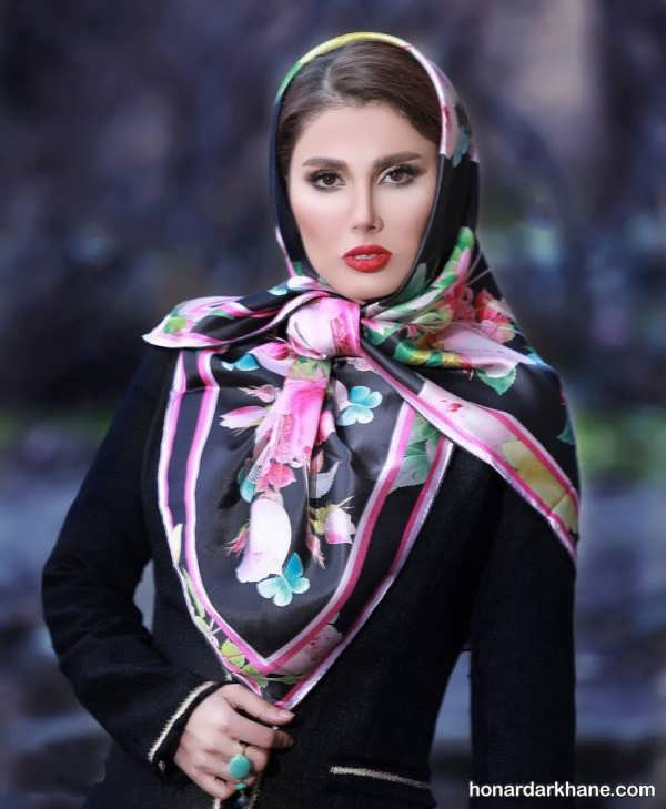 مدل های شیک و جدید شال و روسری