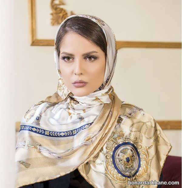 مدل های زیبا و طرح دار روسری و شال