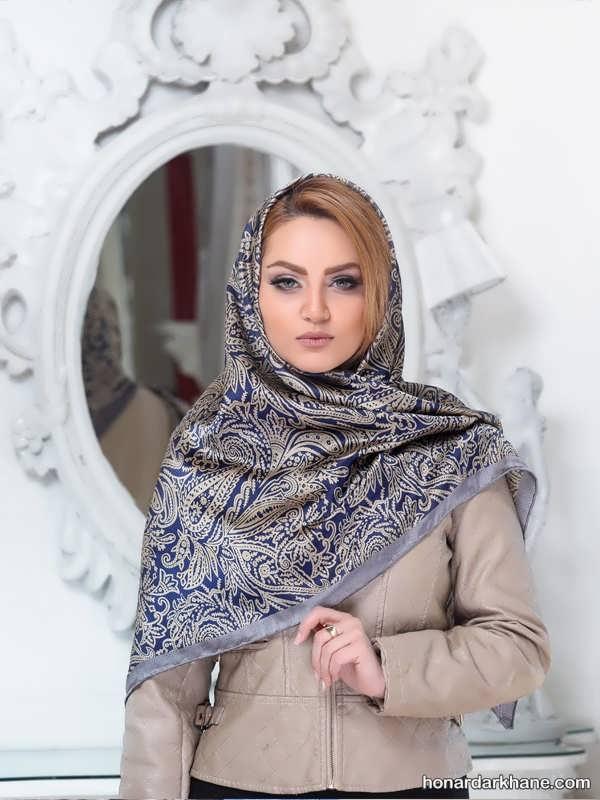 مدل های زیبا شال و روسری