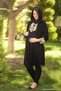 مانتو حاملگی در مدل های متنوع