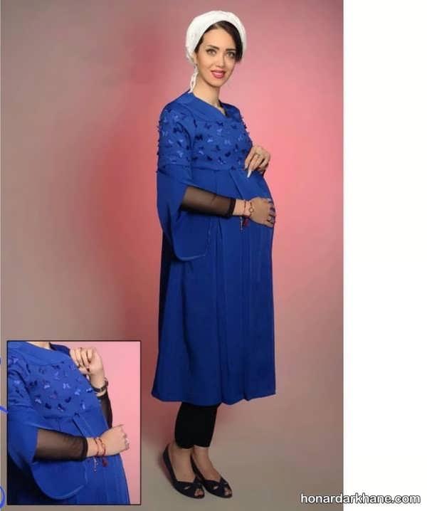 مدل های زیبا و طرح دار مانتو حاملگی