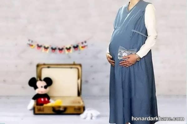 انواع مانتو بارداری در طرح های زیبا