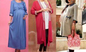 مدل های متنوع مانتو بارداری