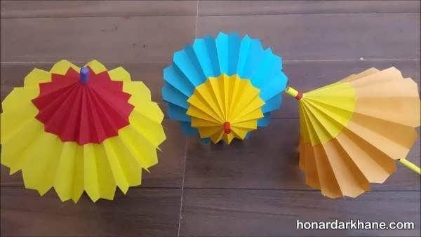 انواع کاردستی با کاغذ رنگی
