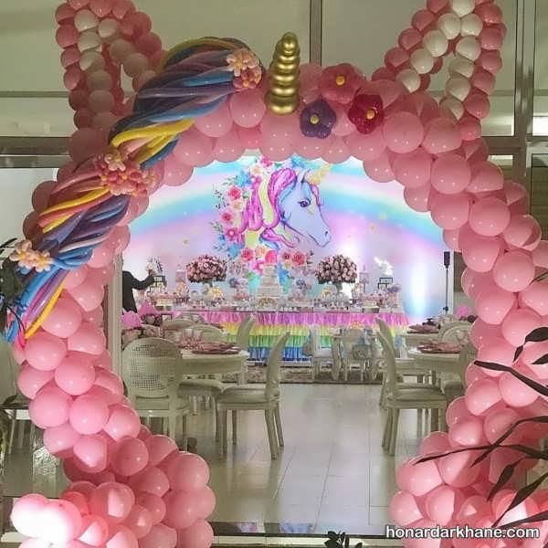 برپا کردن تولد با تم اسب رویایی