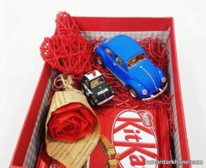 انواع تزیین جذاب و زیبا جعبه ولنتاین