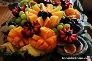میوه آرایی برای شب یلدا