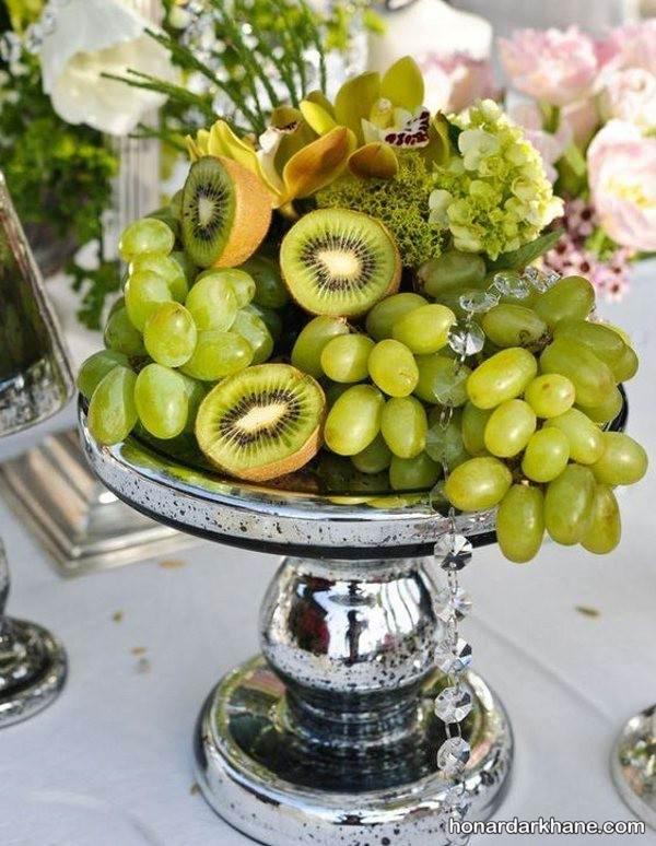 تزیین میوه داخل سبد