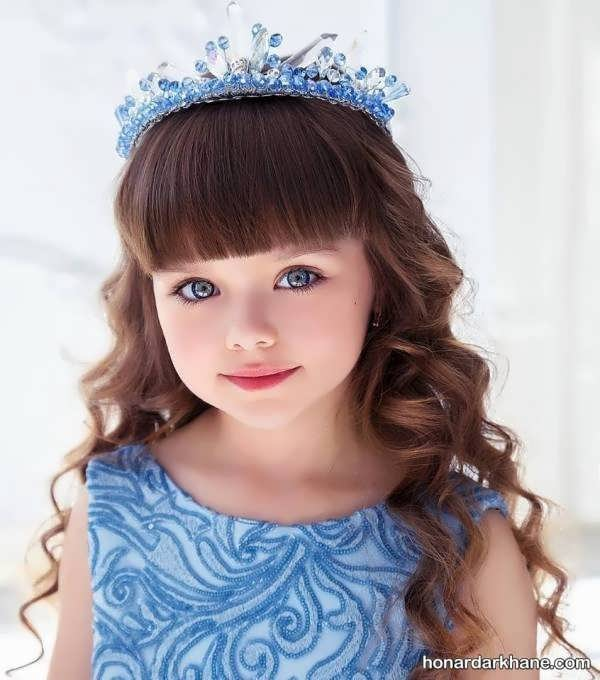 مدل موهای جالب دخترانه