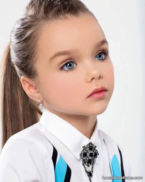 انواع خاص و شیک مدل مو کودک