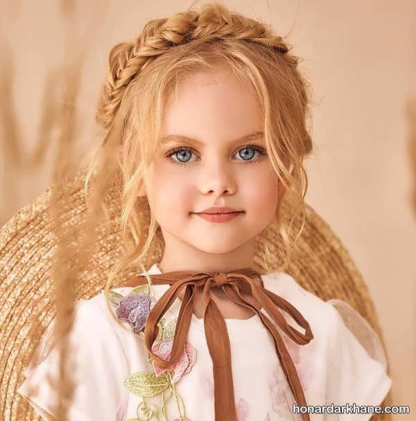 انواع مدل مو زیبا و شیک کودکانه