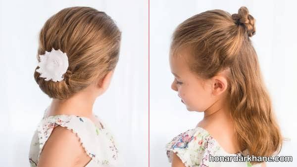 انواع مدل مو کودکانه با سبک های زیبا