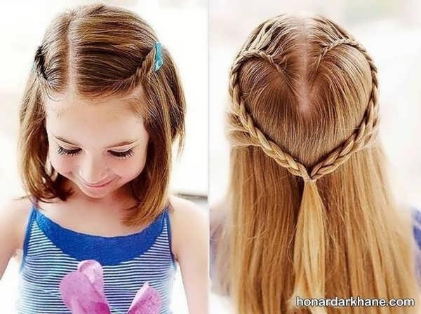 انواع مختلف مدل مو کودکانه