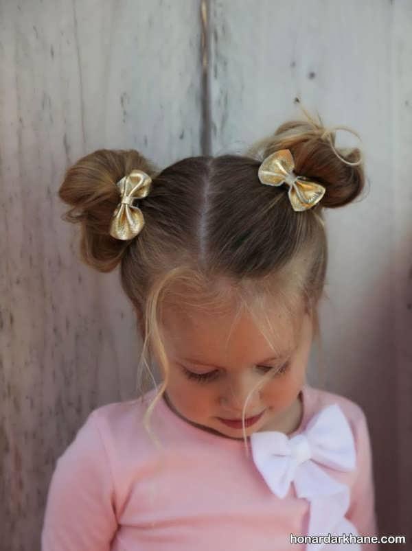 انواع مدل مو بافت و زیبا کودکانه