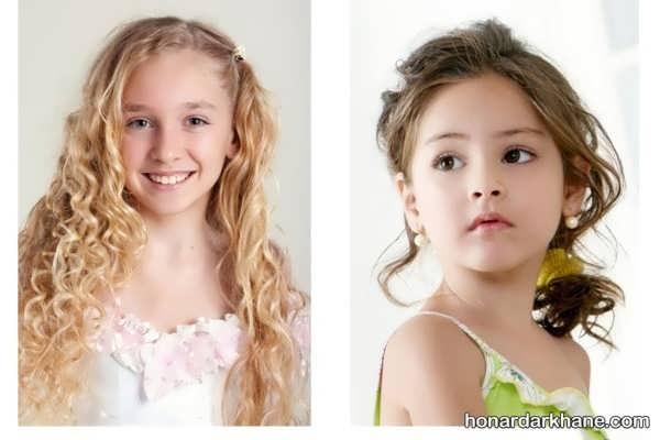 انواع مدل مو زیبا و خاص دخترانه
