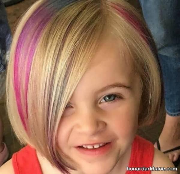 انواع مدل مو جالب کودکانه