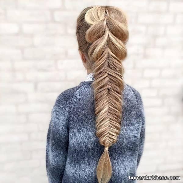 انواع مدل مو کودکانه