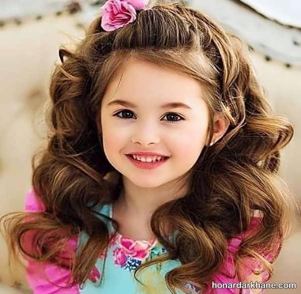 انواع مو کوتاه و زیبا دخترانه