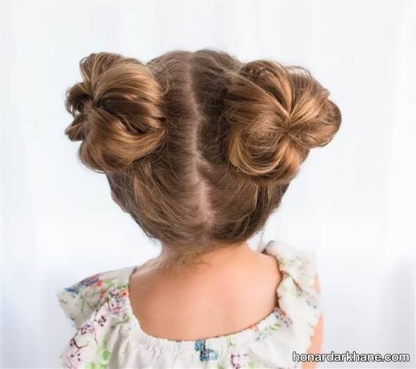 انواع مدل مو بچه گانه دخترانه