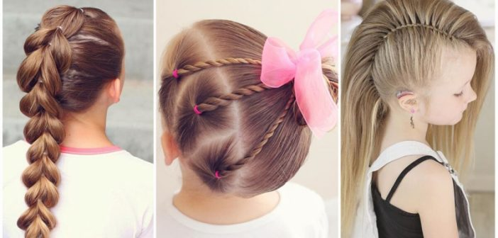 انواع مختلف مدل مو بچه گانه