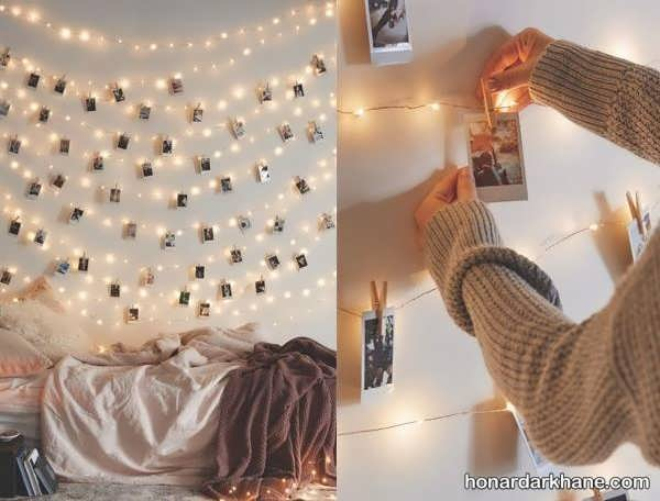 انواع آذین زیبا و خاص اتاق خواب