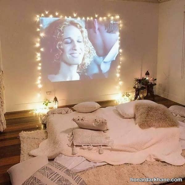 انواع آذین بندی جذاب اتاق خواب
