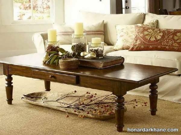 انواع دیزاین میز جلو مبلی